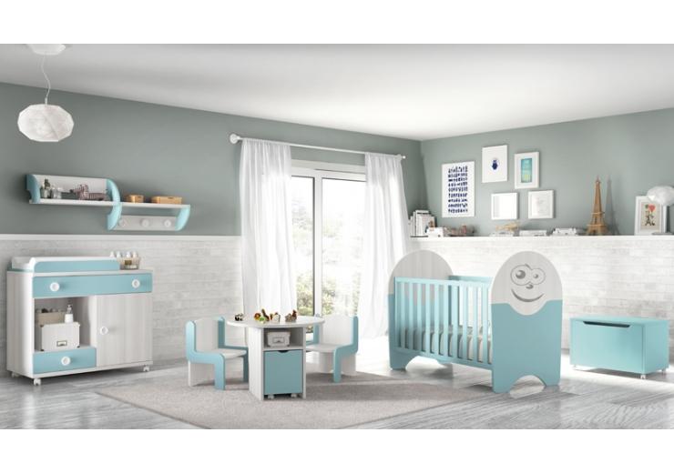 Los b sicos para el dormitorio de tu beb glicerio chaves - Mobiliario habitacion bebe ...