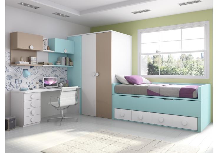 Dormitorio Juvenil Glicerio Chaves Hornero
