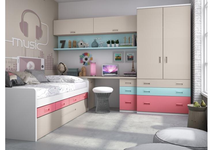5 factores a tener en cuenta a la hora de elegir un for Habitaciones modulares juveniles
